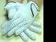 DAMEN - 1 Paar Tischfussball Handschuhe LADY aus Leder