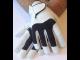 HERREN - 1 Paar Tischfussball Handschuhe GOAL aus Leder